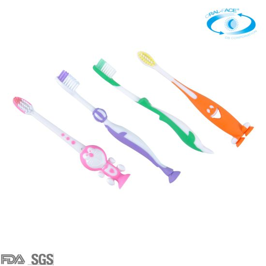 Hot OEM Customized Colorful Kids/Children PP Smile Oral Care Toothbrush
