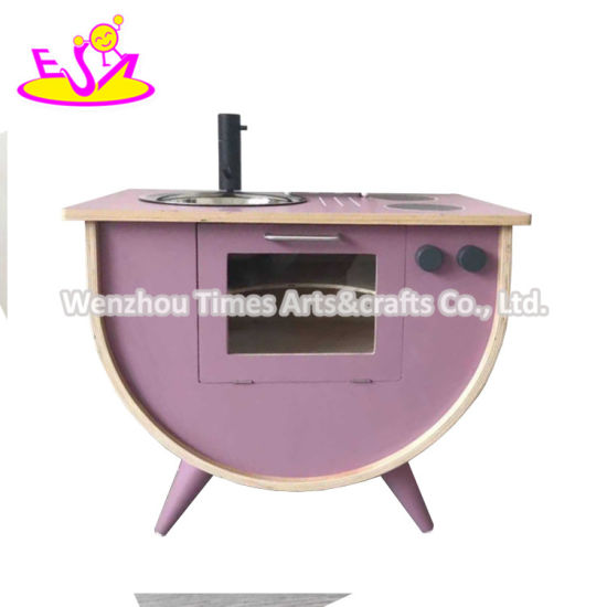 2020 High Quality Simulation Wooden Play Kitchen for Wholesale W10c506b
