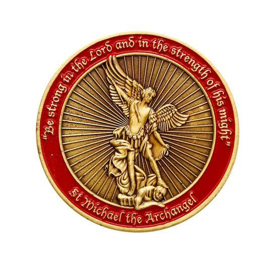 High Quality 3D Souvenir Coin Custom Brass Antique Coins