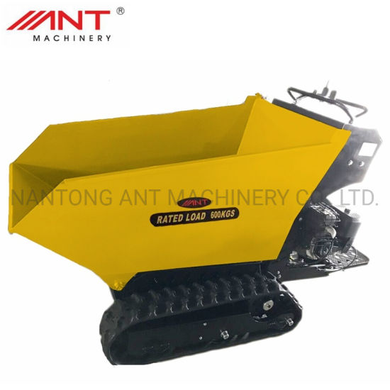 Ant Mini Dumper Power Barrow Hydraulic Transmission Truck Crawler By600s