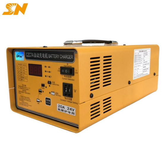 Autobatterie Ladegerät Batterieladegerät KFZ 200AH Intelligent 50-60Hz 12V//24V