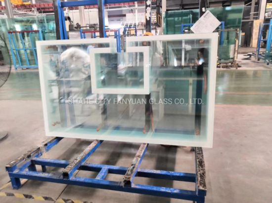 Toughened Laminated Glass with EVA /Sgp/PVB Film for Hurricane-Resistant
