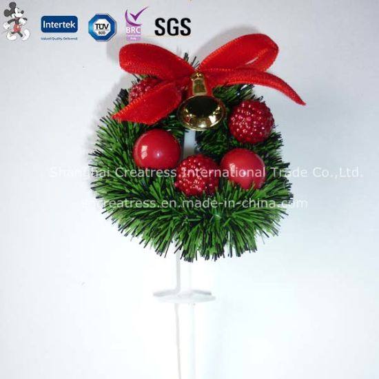 China Cheap Christmas Cake Decoration pictures & photos