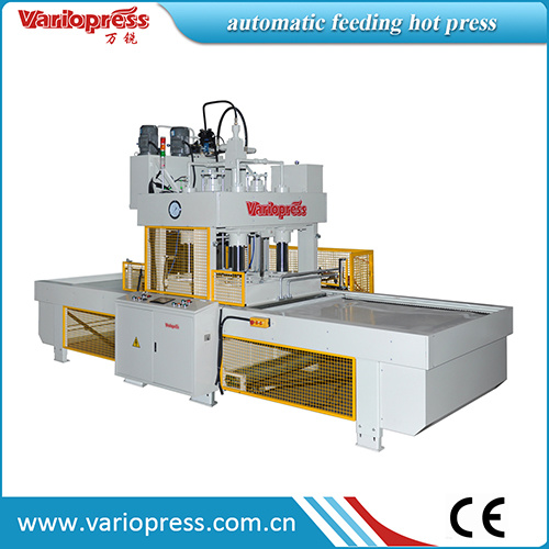 120ton Automatic Feed Short Cycle Hot Press Machine