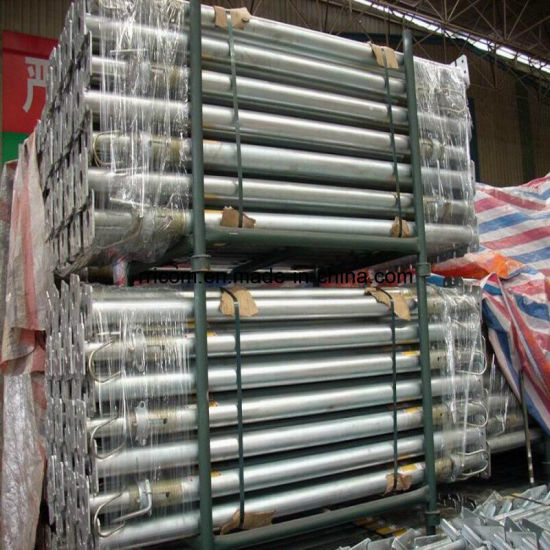 Galvainzed Heavy Duty Scaffold Steel Props for BS1139 /En74 Standard pictures & photos