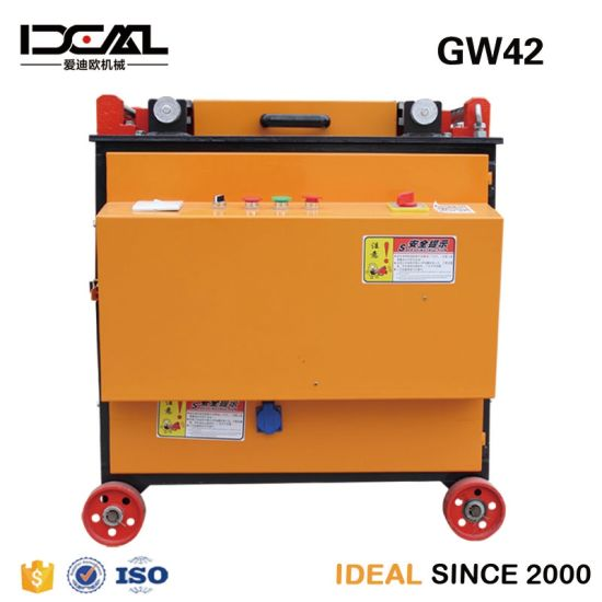 Gw42 350mm Automatic Machine for Bending Rounds Steel Bar Bender with Factory Price