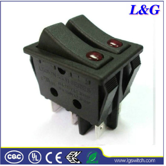 4 Pin 16A 2 Position Toggle Rocker Switch (SS31)
