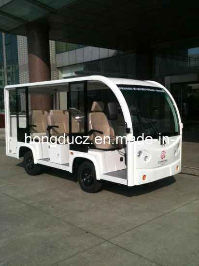 New Hot 8 Passengers Electric Sightseeing Bus