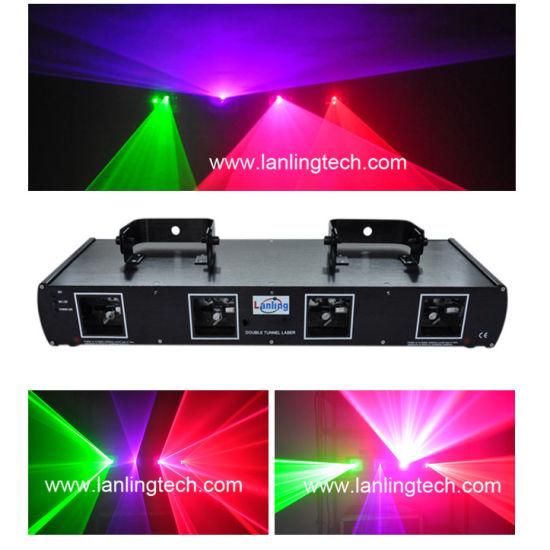 4 Head 4 Color Disco Laser Light Stage Lighting L2609