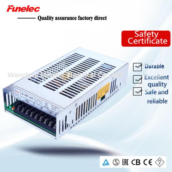 201W 12V 16A AC/DC Single Output Switch Mode Power Supply