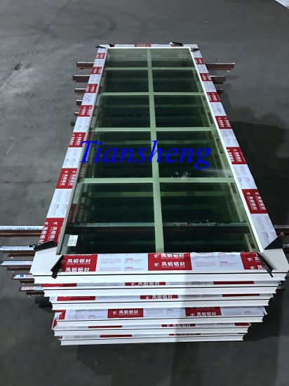 Bullet-Proof Glass Aluminum Thermal Break  Windows and Doors pictures & photos