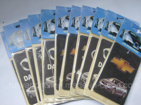 Wholesale Cheap Paper Air Freshener with Car Logo (AF006-4)