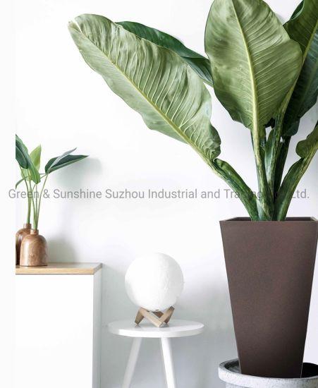 Wholesale Best Price High Quality Eco-Friendly Decorative Plant Pot Tall Square Plastic Flower Pot Plant Pot Garden Planter Eco-Friendly Pots