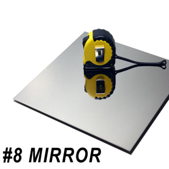 Mirror Surface 304 Stainless Steel Sheet