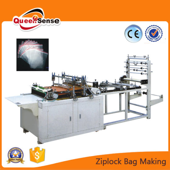 Ziplock Self Closer Bags Making Machine for Packing pictures & photos