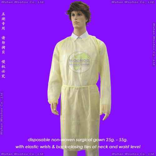 Disposable Non Woven Surgeon Gown pictures & photos