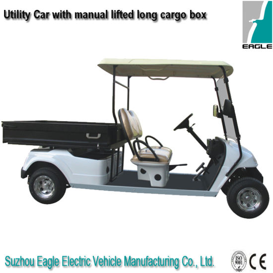 Electric Utility Car with Rear Steel Box (EG2046hcx)