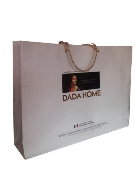 Branded Wholesale Custom Printed Gift Paper Bags for Shopping (FLN-8905)