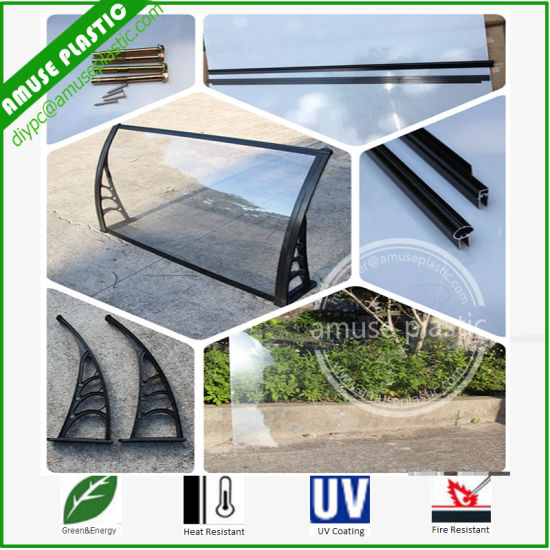 Single & Multi Modern Door Polycarbonate PC Canopy Shelter Cover Awning pictures & photos