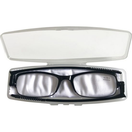 360 Degreee Hinge Tr90 EMS Super Thin Folding Reading Glasses with Case pictures & photos