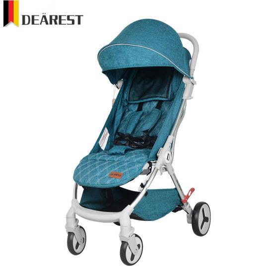 China Supplier Dearest One Hand Fold Light Weight Baby Stroller
