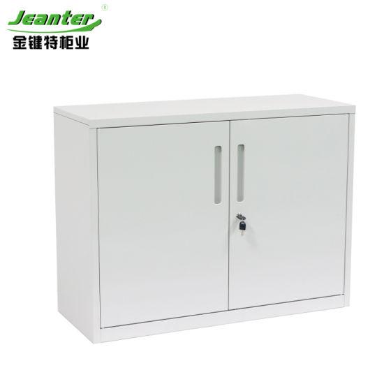 Office Furniture Two Swing Door Steel Filing Storage Cabinet