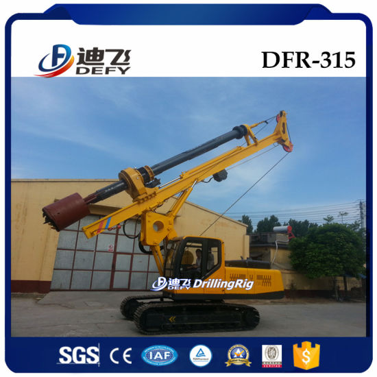 Portable Rotary Drilling Rig Dfr-315 Pile Machine for Sale pictures & photos
