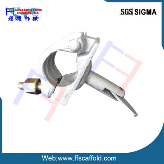 Single Scaffold Clamp Scaffolding Coupler with Welded Pin (FF-0033) pictures & photos
