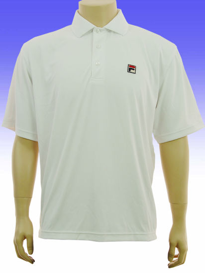 White Color Mens Embroidered Custom Cotton Polo T Shirt