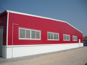 Prefab Light Steel Structure Building for Food Market (KXD-40) pictures & photos