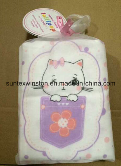 100% Cotton Flannel Baby Diapers pictures & photos