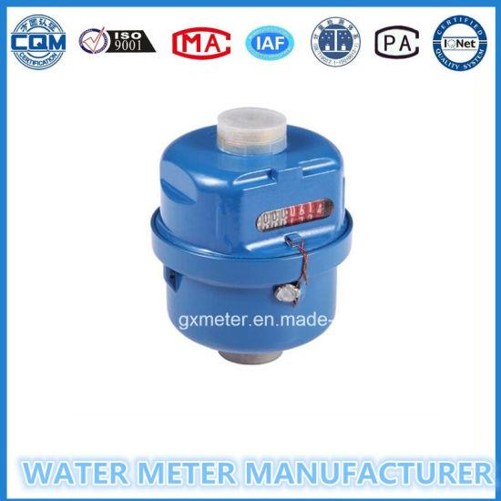 Volumetric Water Meter, Kent Type, Brass Body