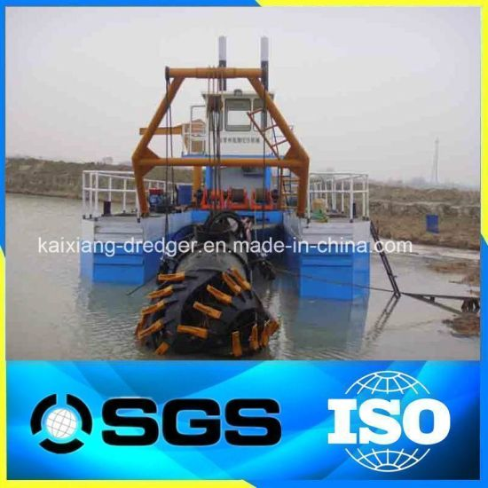River Sand Cutter Suction Dredger in Stock pictures & photos