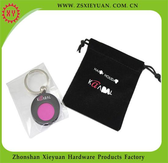 Velvet Pouch Keychain PVC China