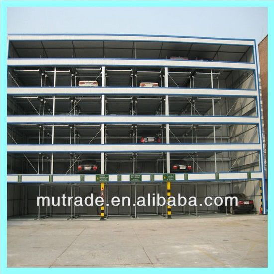 Smart 4 Floors Automatic Car Parking Lift System pictures & photos