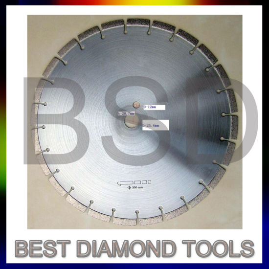 Diamond Cutting Blade for Gas Saws, Angle Grinders and Electric Cutters, for Cutting All Types of Abrasive Materials Including Masonry, Brick and Sandstone
