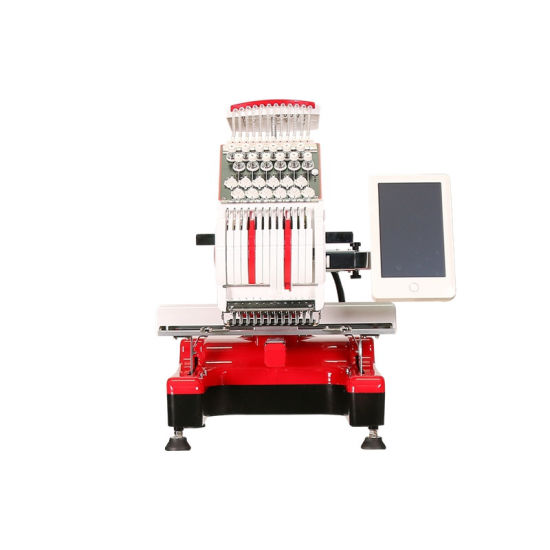 New Smart Computerized Embroidery Machine Logo Embroidery Machines Made in China Selling USA