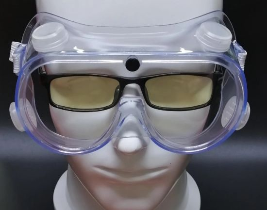 ANSI Z87.1 D3 Wholesale Anti Fog Clear Indirect Venting Protective Glasses Goggles