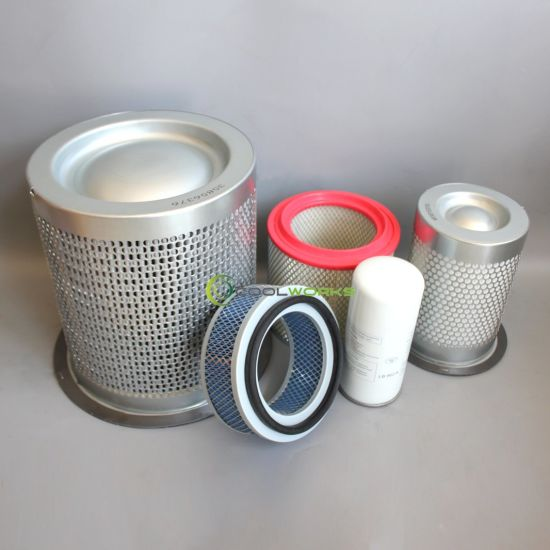 Pieza Del Compresor De Aire Air Compressor Part Oil Separator Air Filter Oil Filter Wd962 35856376