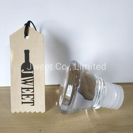 Non Spill Glass Top Corks for Spirits Bottle