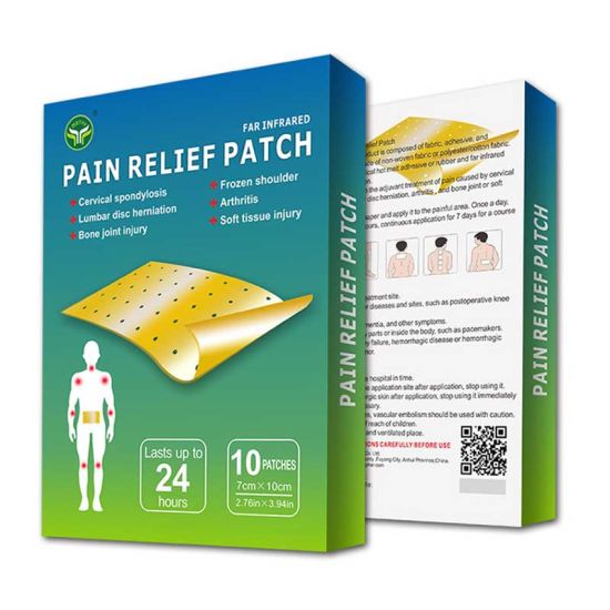 China Professional Factory OEM Salonpas Ketotop Transdermal Pain Relieving Patch for Arthritis Pain