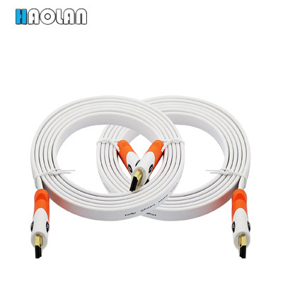 Flat HDMI Cable 3FT - High Speed HDMI Cord - Supports, 4K Video, 2160p, Latest Standard, Hdcp 2.2 Compliant - 3 Feet