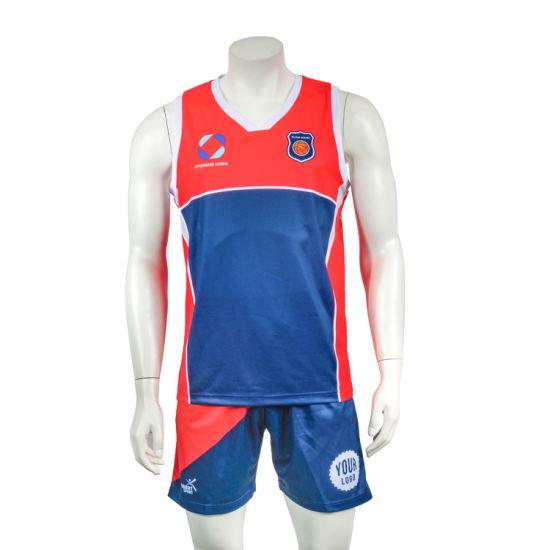 Aibort Sportswear Team Set Short Design Custom Basketball Uniforms (0A4A1083)