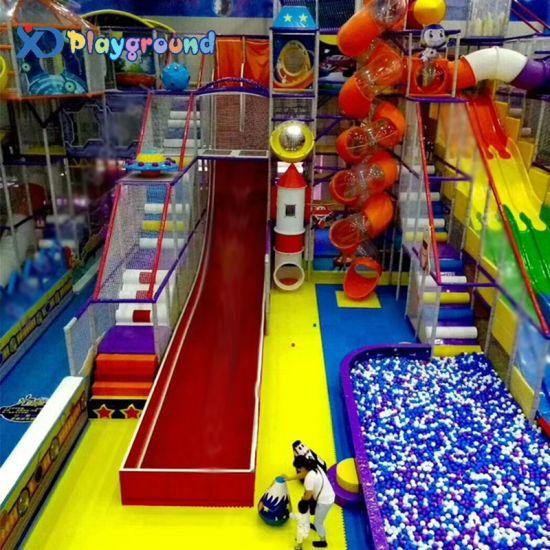 Filed Installation Children Indoor Foam Playground Equipment for Car