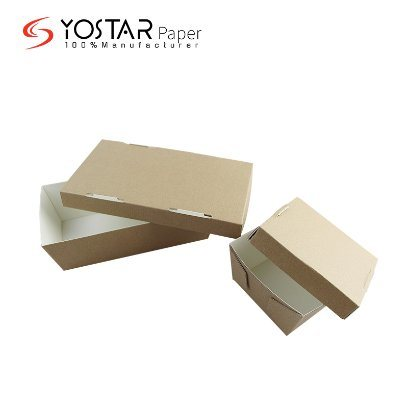 Wholesale Corrugated Take out Cookie Dessert Food Carton Box with Cover