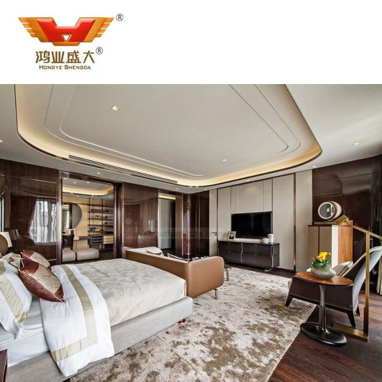 High Quality Luxury Hotel Living Room Beds Bedroom Furniture