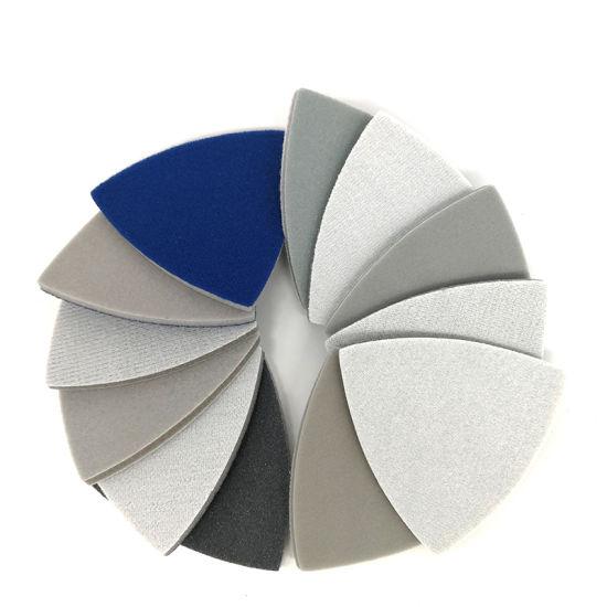 90X90X90mm 300-3000 Grit Hook and Loop Sanding Sponge Sandpaper for Polishing and Grinding