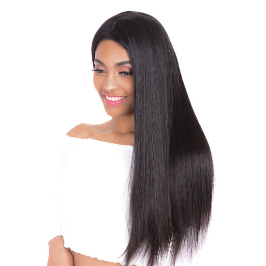 Wholesale Virgin Brazilian Human Hair Full Lace Wigs Straight Natural Human Hair Wig