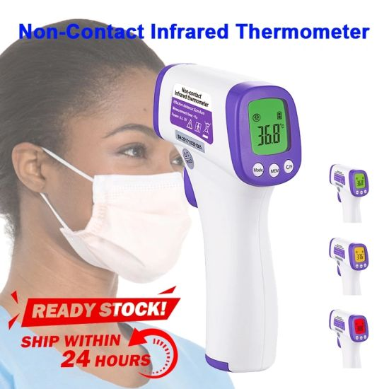 Infrared Thermometer Ear Forehead Fever Temperature Measurement High Accurate
