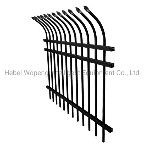 F005 Factory Direct Sales Wholesale Security Galvanized Steel Fencing